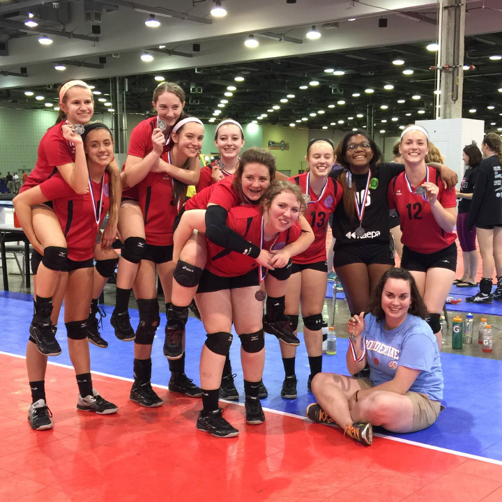 Kaepa Borderline 15 Red: 3rd Place, 15 Regional, Gold Division