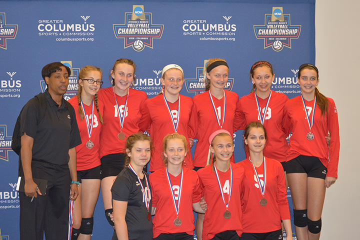 Borderline 13 Hawks: 3rd Place Gold, OVR 2016 Girls' Volleyball Championships, May 14, 2016