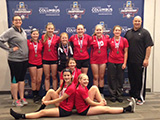 Borderline 13 Red: 3rd Place Nickel, OVR 2016 Girls' Volleyball Championships, May 21, 2016