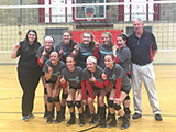 Borderline 14 Hawks: 1st Place Gold, Miami University, April 16-17, 2016