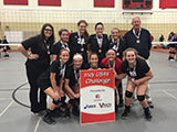 Borderline 14 Hawks: 1st Place Gold, Indy USAV Challenge, April 23-24, 2016