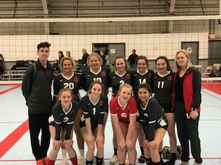 Borderline 14 Hawks: 3rd Place Gold, 4/7/2019