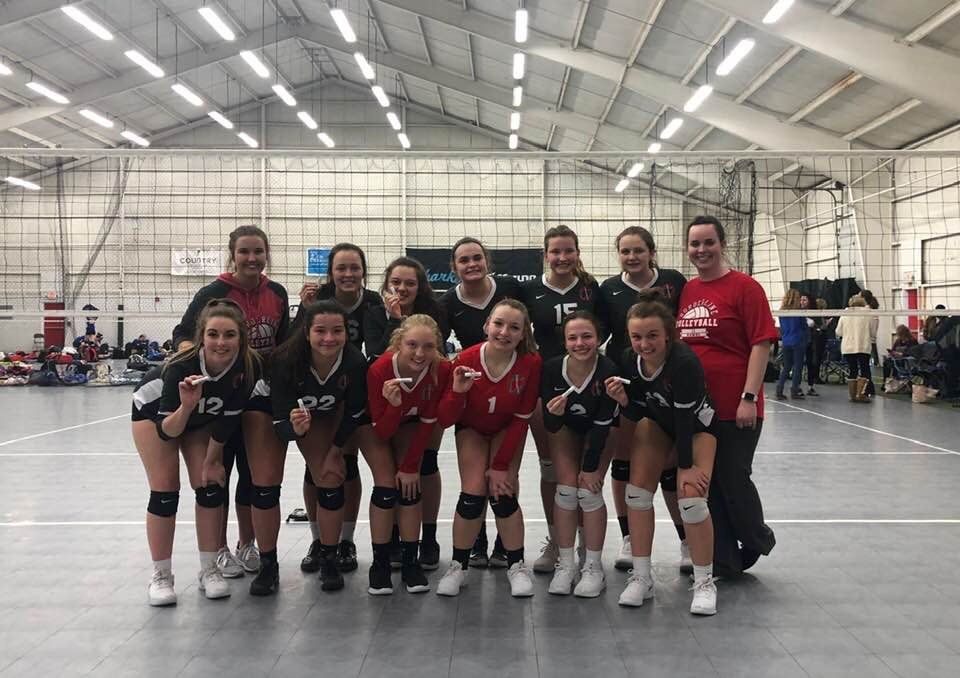 Borderline 17 Hawks: 2nd Place Gold, 2/3/2019