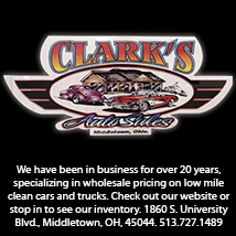 We have been in business for over 20 years, specializing in wholesale pricing on low mile clean cars and trucks.  Check out our website or stop in to see our inventory.  1860 S. University Blvd., Middletown, OH, 45044. 513.727.1489