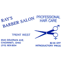 Trent West - Ray's Barber Salon