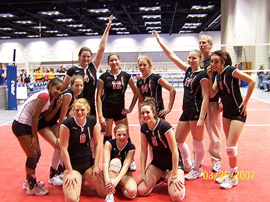 Kaepa Borderline 15 Hawks, First Place Mizuno Hoozier Mideast Qualifier 2007