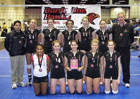 Kaepa Borderline 16 Hawks 2008: Mizuno Hoosier Mid-East Qualifier - 2nd in Gold